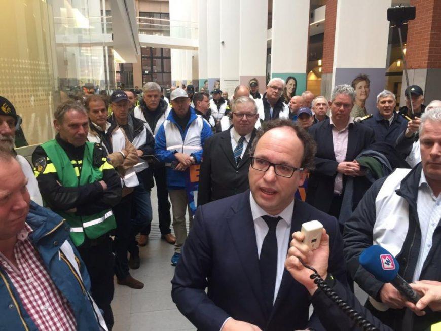 Bonden willen subsidie voor informatief pensioenprotest
