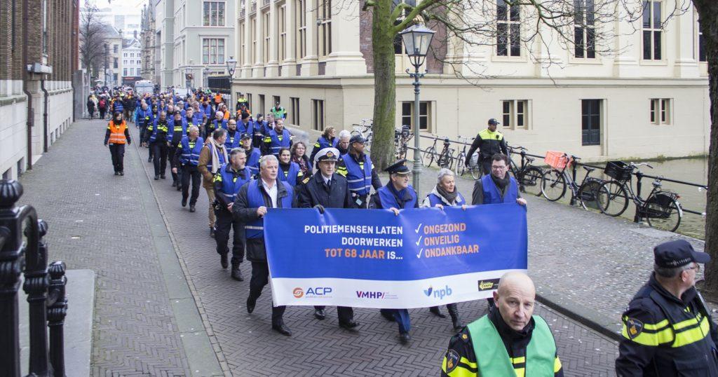 Burgerinitiatief politiepensioen deels afgewezen