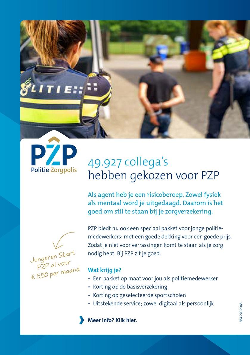 flyer werving PZP Jongeren Start