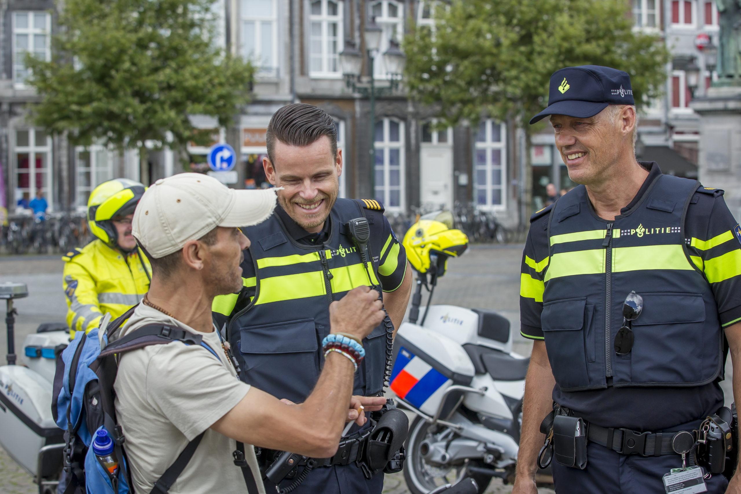 Trots op onze politiemensen